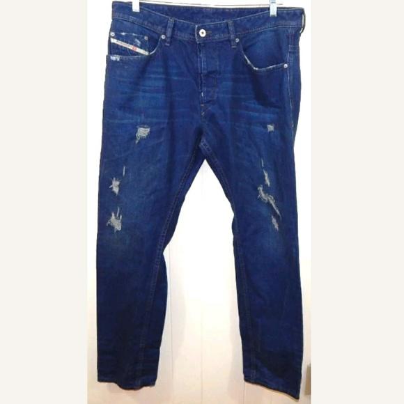 Diesel Jeans   Mens Braddom Distressed Slim   Poshmark beab49ae8d